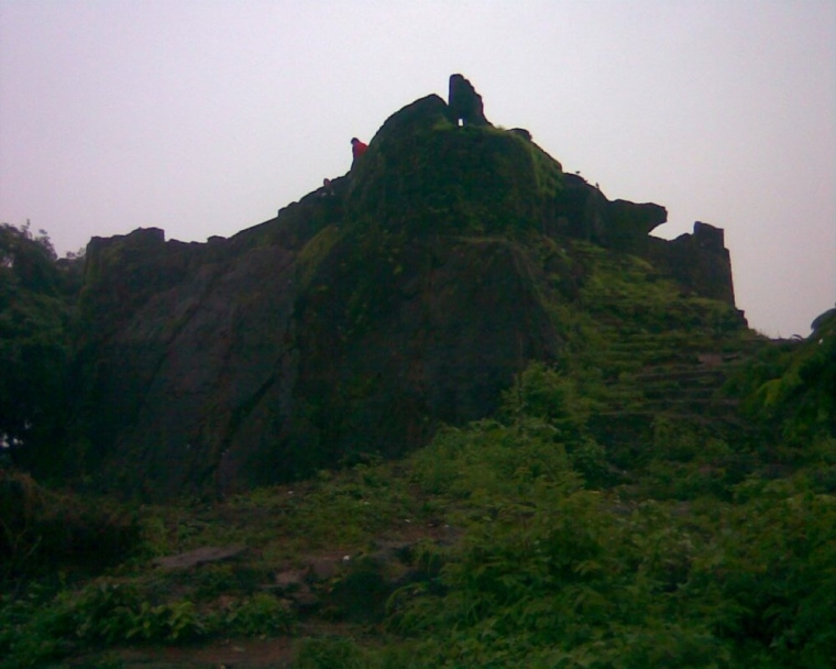 Sion Fort during peak monsoon